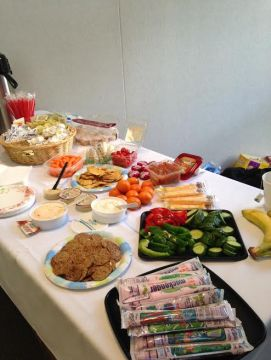 PTNW Continuing Education Course Food Spread